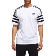 Men Authentics Short Sleeve T-Shirt Perfect color comfortable cutting White/ Black NJDCZVF