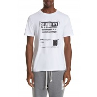Men Stereotype T-Shirt Perfect color comfortable cutting White HRQAXKZ