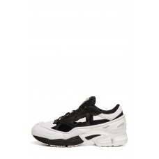 Men adidas x Raf Simons Replicant Ozweego Sneaker Comfortable feet make you a gentleman Core Black/ Colonial Blue JNPJDFL