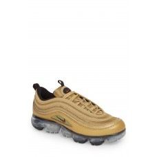 Men Air VaporMax '97 Sneaker Comfortable feet make you a gentleman Metallic Gold/ Varsity Red BDQKCOJ