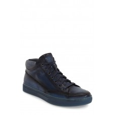Men 'Strickland' Sneaker Comfortable feet make you a gentleman Navy Leather IAZXANU