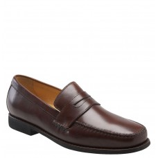 Men 'Ainsworth' Penny Loafer LComfortable feet make you a gentleman Antique Mahogany ADFYIWO