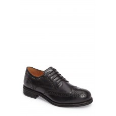 Men Corten Wingtip LComfortable feet make you a gentleman Black Leather TQIXYID
