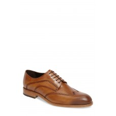 Men Francesco Wingtip Derby LComfortable feet make you a gentleman Tan Leather BBFEZAX