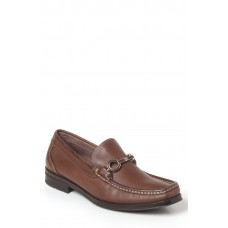 Men Genoa Bit Loafer LComfortable feet make you a gentleman Brown Leather AWLMKSY