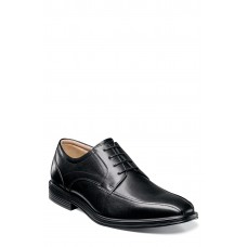 Men 'Heights' Bike Toe Derby LComfortable feet make you a gentleman Black Leather IAKQKRZ
