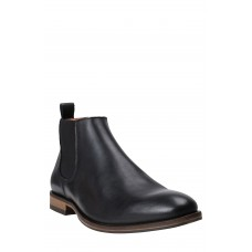 Men St. Stephens Chelsea Boot LComfortable feet make you a gentleman Nero Leather OATUEUA