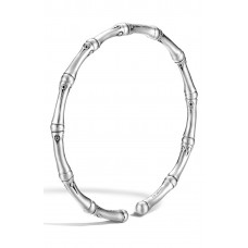 Women 'Bamboo' Skinny Cuff Comfortable and elegant Sterling Silver LXQSLDK