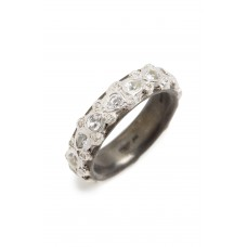 Women New World Sapphire Stack Ring Comfortable and elegant Silver JXROLPH