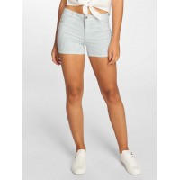 Only Women Short onlLaney in white white / blue 98% cotton 2% spandex Closure: concealed zipper 15156516WHTSTR HGBQFZA