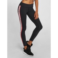 Sixth June Women Legging/Tregging Erde in black black / white / red 90% polyester 10% spandex Elastic waistband with drawstring closes the hips securely and ensures a good fit W3132BLK PWBPYUC