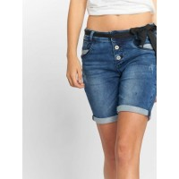 Sublevel Women Short Bermuda in blue Closure: visible button placket D1328E61826ZM133MBLUDEN NNOMSMY