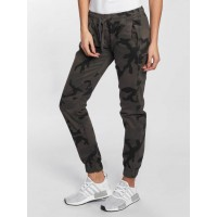 Urban Classics Women Sweat Pant Camo in camouflage camouflage 98% cotton 2% spandex Drawstring on the outside of the elastic waistband ensures a secure fit TB1998DCAM FGYAQJQ