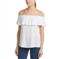 Women Drew Wilma Blouse Approximately 22in from shoulder to hem White 445879301 GQIVQCZ