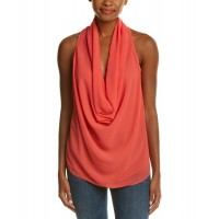 Women Fate Cowl Neck Tank Approximately 25in from shoulder to hem Coral 452448501 PLRBHHK