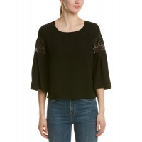 Women Ramy Brook Lily Top Approximately 22in from shoulder to hem Black 445857301 QWBUHPA