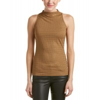 Women Sheri Bodell Glamorous Life Top Approximately 24in from shoulder to hem Brown 431683501 DNAGBOL