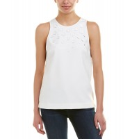 Women Trina Turk Juna Top Approximately 25in from shoulder to hem White 514336101 JORUSAR