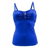Women Livia Blue Tankini Swimsuit Lavandou Dilcia Sexy and elegant Blue 456535301 WJRAIUP