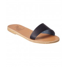 Women Ancient Greek Sandals Arsinoi Leather Sandal Sexy and elegant Blue Style # 510630401 IKPCTIR