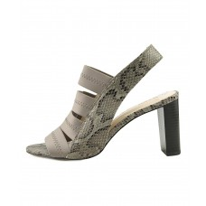 Women Alfani Womens Rennatah Leather Open Toe Casual Strappy Sandals Sexy and elegant Grey Style # 470371001 WLNPGEF
