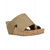 Women Donald Pliner Gee Suede Wedge Sandal Sexy and elegant NoColor Style # 496887101 MDPVEXJ