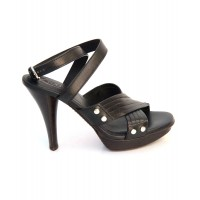 Women Ladies Sandal Sexy and elegant Black Style # 462475501 HKTBNIA