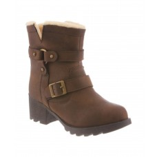 Women Bearpaw Women's Felicity Ankle Boot Sexy and elegant Chocolate II Faux Leather Style # 471787702 IUHWPCX