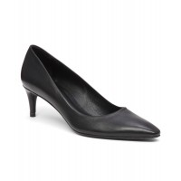 Women Calfskin 'swell' Pump Sexy and elegant Black Calf Style # 409945201 ROXYGAH