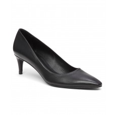Women Calfskin 'swell' Pump Sexy and elegant Black Calf Style # 409947201 BKEHCHP