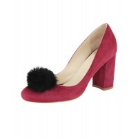 Women Piper Sexy and elegant Burgundy Suede Style # 463713002 JWERGCJ