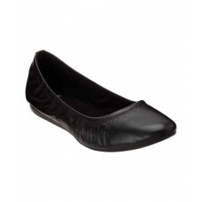 Women Bandolino Women's Fadri Ballet Flat Sexy and elegant Black Leather Style # 505322701 GRSWYYZ