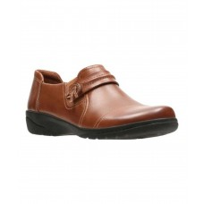 Women Clarks Women's Cheyn Madi Monkstrap Sexy and elegant Dark Tan Full Grain Leather Style # 502248604 UWNBMDK