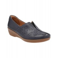 Women Clarks Women's Everlay Dairyn Loafer Sexy and elegant Navy Cow Full Grain Leather Style # 471855901 IKOMAAK