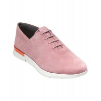 Women Cole Haan Women's Grand Horizon Ii Oxford Sexy and elegant Lilas Pink/Ivory Suede Style # 502245601 PJUTFNY