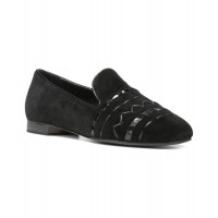 Women Donald Pliner Hayliesp Suede Loafer Sexy and elegant Black Style # 474556601 HRQIURW
