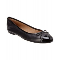 Women French Sole Tolkien Leather Flat Sexy and elegant Black Style # 492308801 FHJYLSH