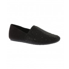 Women Kenneth Cole Reaction Women's Bare Ur Soul Flat Sexy and elegant Black Microsuede Style # 471862701 EBEDRCU