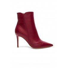 Women Gianvito Rossi Leather Levy Ankle Boots Hergestellt in Italien TFRAKTY
