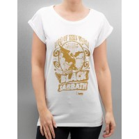Merchcode Women T-Shirt MC032 in white Artist: Black Sabbath MC032WHT MHRLTGH
