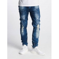 Bangastic Men Slim Fit Jeans Armando in blue Closure: concealed button strip BGJS253BLU GNVYJQJ