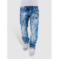 Cipo & Baxx Cipo & Baxx Men Straight Fit Jeans Sinno in blue C1150 PFDGQFP