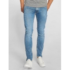 Lee Men Slim Fit Jeans Luke in blue light blue 90.5% cotton 8% lyocell 1.5% spandex Contains non-textile ingredients of animal origin L719ROAI PMAADTV