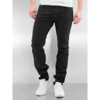 Lee Men Straight Fit Jeans Rider in black Black 71% cotton 29% elastane Closure: concealed zip L701YC47 WVFUSZZ