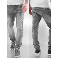 Petrol Industries Men Slim Fit Jeans Seaham in grey six belt loops SEAHAM45 DOQWVHZ