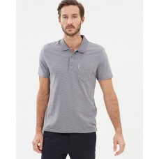 Ben Sherman Micro Retro Spot Jacquard Polo Shirt An essential item in the closet BE007AA19SRO GKZRBLZ