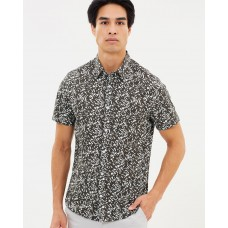 Burton Menswear SS Abstract Leaf Shirt An essential item in the closet BU077AA56FNR XRLIXXJ