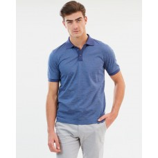 CERRUTI 1881 Abstract Wash Contrast Polo An essential item in the closet CE934AA50PUN EVTNTZA