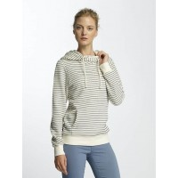 Billabong Women Hoodie Louna in white white / black 50% cotton 50% polyester Crossed hood with drawstring F3HO02491 KXSYNHO