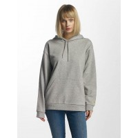 Carhartt WIP Women Hoodie Chase in grey Hood with drawstring I024764V690 WXNZAAE
